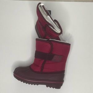 Childrens Place Neon Scarlett Girls Snow Boots NWT